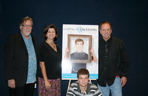 Rudy Gatlin & Randy Wills who join Jennifer Allen and Sam Allen at a Dallas Theatrical Showing at Studio Movie Grill
